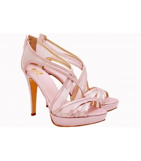 Lou bridal-evening sandals Opaline